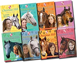 Chestnut Hill Collection Lauren Brooke 8 Books Set (A Chance to Shine, All or Nothing, A Time to Remember, Heart of Gold, Team Spirit, Helping Hands, Racing Hearts, Chasing Dreams) (By the author of Heartland) (Chestnut Hill Collection)