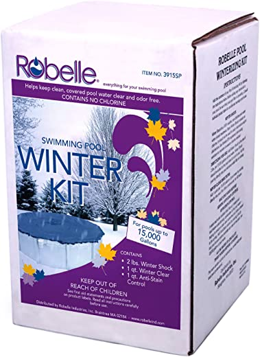 Robelle 3915SP Swimming Pool Winter Kit for Pools Up to 15000-Gallon