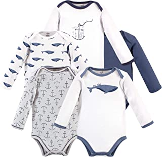 Touched by Nature Boys' Unisex Baby Organic Cotton Bodysuits