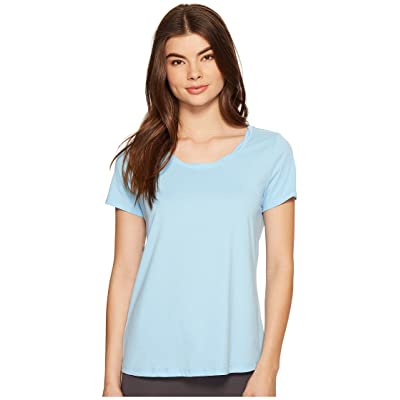 Jockey Short Sleeve Top (Blue Lagoon) Women