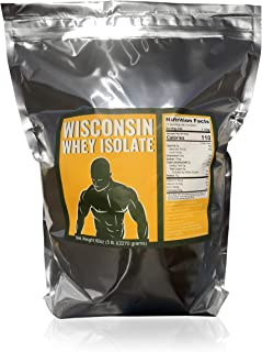 5 lbs Wisconsin Whey Protein Isolate