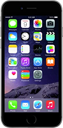 Apple iPhone 6 Plata 64 GB (Renewed)