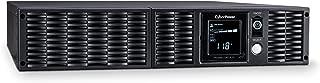 CyberPower PR3000LCDRTXL2UN Smart App Sinewave UPS System, 3000VA/3000W, 8 Outlets, AVR, 2U Rack/Tower + Pre-Installed SNMP Card