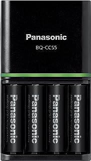 パナソニック エネループ 急速充電器セット 単3形充電池 4本付き 大容量モデル eneloop pro K-KJ55HCD40