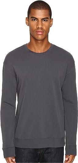 Vince - Side Zip Long Sleeve Crew Neck Sweater