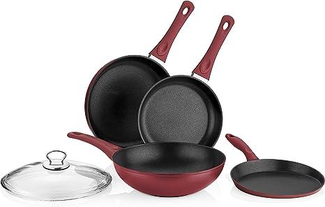 Saflon Titanium Non Stick Cookware w/Wok