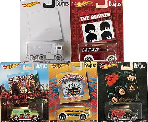 Hot Wheels The Beatles Set 5 Modellautos Pop Culture 1 64 DLB45