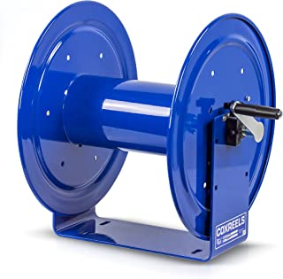 Coxreels 117-3-250 Compact Hand Crank Hose Reel, 4,000 PSI, Holds 3/8