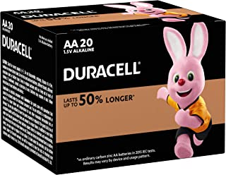 Duracell Coppertop AA Batteries, 20 count, Pack of 20