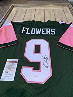 Quinton Flowers Autographed Signed Memorabilia Jersey - JSA Authentic