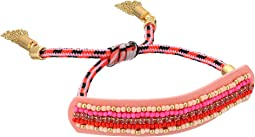 Rebecca Minkoff - Striped Seed Beads Friendship Bracelet