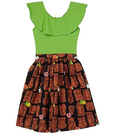 fiveloaves twofish Ruffle Collar Abbie Dress Tiki (Little Kids/Big Kids)