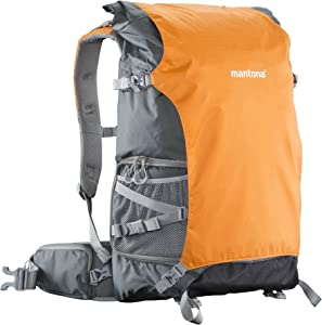 Mantona ElementsPro 50  Outdoor Camera Bag  in  Grey Orange...