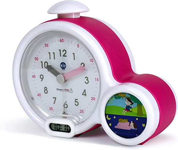 Claessens Kids Kid Sleep My First Alarm Clock And Sleep Trainer Pink