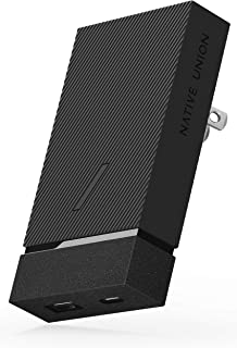 NATIVE UNION Smart Charger PD 18W - Power Delivery Enabled USB Charger up to 18W