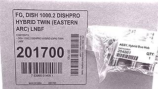 DISH 1000.2 hybrid twin DISHPRO (eastern arc) LNBF + Hybrid Duo Hub 201700