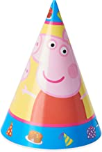 American Greetings Peppa Pig Party Supplies, Party Hats (8-Count)