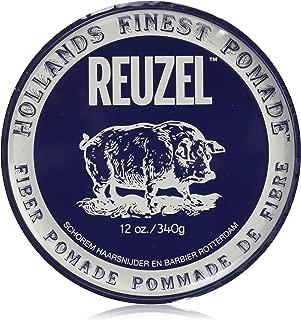 Reuzel Natural Finish Fiber Pomade, 12 oz