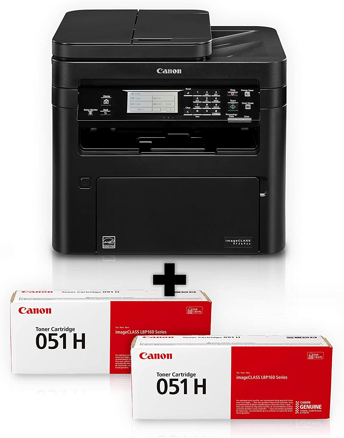 imageCLASS MF269dw VP - All in One, Wireless, Mobile Ready Laser Printer with 2 Year Warranty and 2 High Capacity Toners
