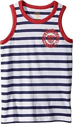 Cotton Jersey Graphic Tank Top (Little Kids/Big Kids)