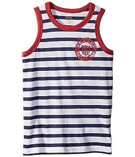 Cotton Jersey Graphic Tank Top (Little Kids/Big Kids)