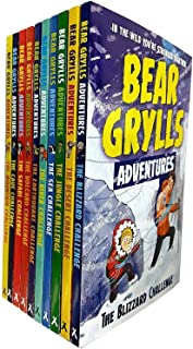 Bear Grylls Adventure Series Mountain Challenge 10 Books Collection Set