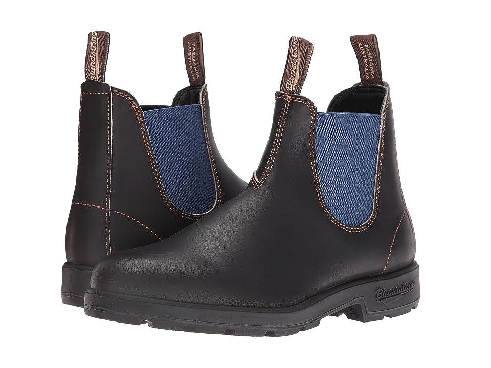 Blundstone 578 (Stout Brown/Pale Blue) Boots