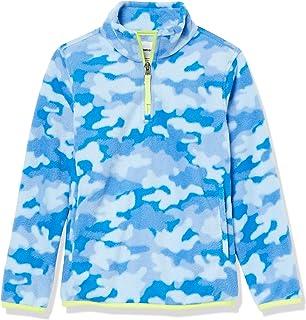 Amazon Essentials Quarter-Zip Polar Fleece Jacket Niños