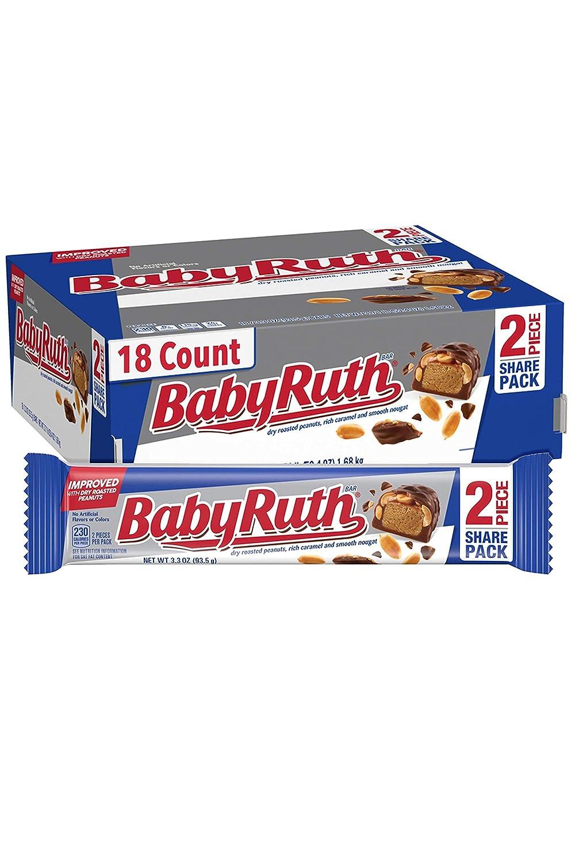 Baby Ruth Milk Chocolate Halloween Max 57% OFF Bulk Ferrero Bars Candy Our shop most popular Shar