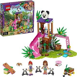 LEGO® Friends Panda jungle boomhut 41422 set; speelset met een boomhut met een glijbaan en 3 speelgoedpanda's (265 onderde...