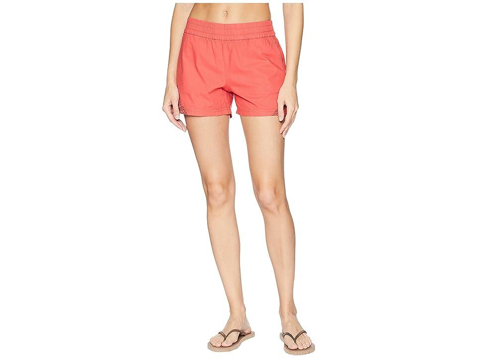 Prana Hermione Shorts (Peach Gerberas) Women