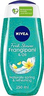 NIVEA Frangipani & Oil Shower Gel, Caring Oil Pearls, Framgipani Scent, 250ml, BBD3889