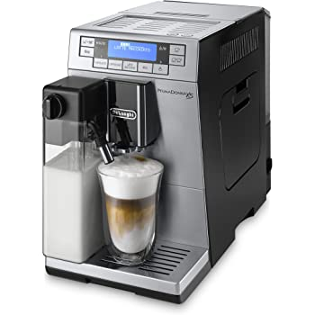 DeLonghi Primadonna XS Independiente Totalmente automática Máquina espresso 1.3L 2tazas Negro, Acero inoxidable - Cafetera (Independiente, Máquina espresso, 1,3 L, Granos de café, Molinillo integrado, Negro, Acero inoxidable): Amazon.es: Hogar