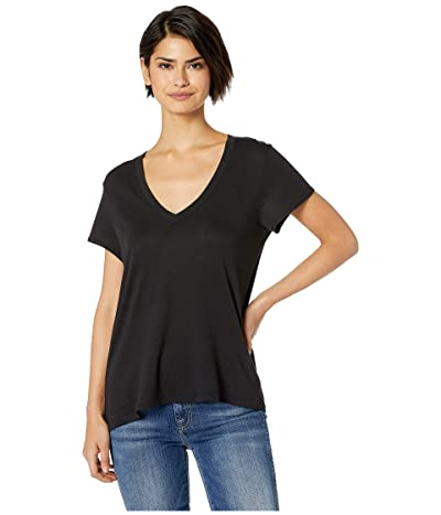 Splendid Kate Short Sleeve Modal Jersey V-Neck Tee Women