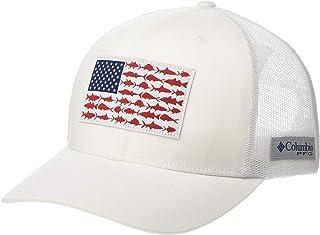 قبعة كرة خلفية بإبزيم عليها علم سمكة PFG من كولومبيا PFG قابلة للتنفس، قابلة للتعديل