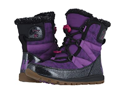 SOREL Kids Disney X Sorel Whitneytm Short Lace Anna (Little Kid/Big Kid) (Wild Iris/Black) Girls Shoes