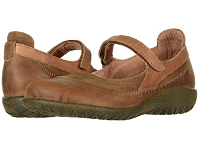Naot Kirei (Antique Brown Suede Combo) Women