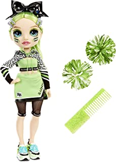 Rainbow High Cheer Jade Hunter – Green Cheerleader Fashion Doll with 2 Pom Poms and Doll Accessories, Great Gift for Kids ...