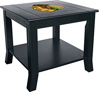 Imperial Officially Licensed NHL Furniture: Hardwood Side/End Table