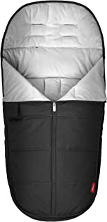 Diono All Weather Footmuff to Protect Your Baby in Car Seats & Strollers, Black Midnight