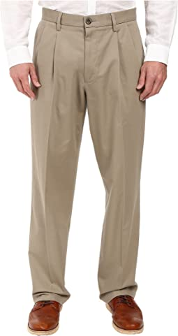 Signature Khaki D4 Relaxed Fit Pleated