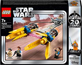 LEGO Star Wars TM Anakin's Podracer – 20th Anniversary Edition for age 7+ years old 75258