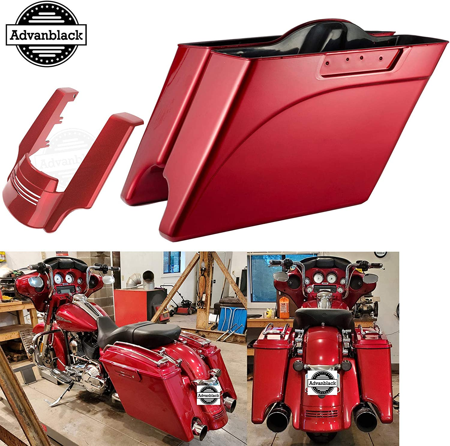 Moto Onfire Ember Red Sunglo 4.5