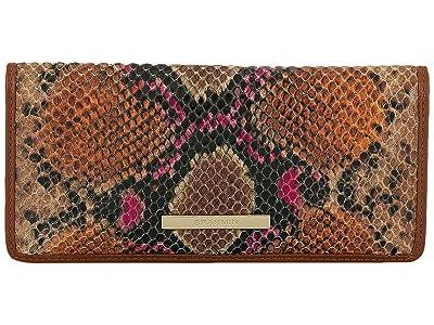 Brahmin Tangelo Ady Wallet (Marmalade) Handbags