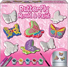 NEW DESIGN  RUBBER LATEX MOULD MOULDS MOLD BUTTERFLY SAT DOWN A