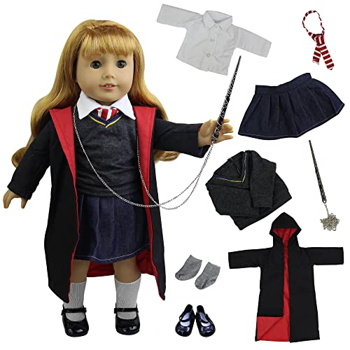 ZITA ELEMENT Magic School Uniform for 18 Inch American Doll Clothes  Accessories or Other 45 - 0864954d5