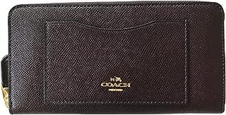 coach wallet oxblood