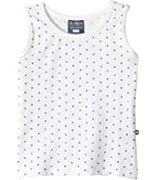 Toobydoo - Blue Dot Tank Top (Toddler/Little Kids/Big Kids)