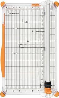 Fiskars Cizalla Grande para Papel A4 Con guía de la línea de corte Incluye Cuchilla de Marcado y Cuchilla de Corte SureCut Plus 1020504