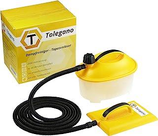 Dampftapetenablöser, 2000 Watt Leistung, 4,5 Liter Wassertank, Arbeitszeit ca. 80 Minuten. Tapetenentferner Wasserdampferzeuger Tapetenlöser